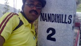 Cycling to Nandi Hills